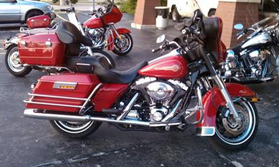 Bought the 2005 Harley Davidson FLSTCI Firefighter Special Edition  July 2010