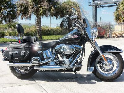 2005 Harley-Davidson Softail motorcycle (this photo is for example only; please contact seller for pics of the actual motorcycle for sale in this classified)