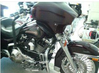2005 Harley Davidson Electra Glide Trike Motorcycle with a Champion Trike Kit