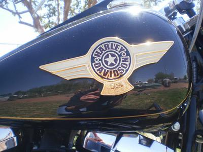 2005 Harley Davidson Special Edition Fatboy Fat Boy fuel tank emblem
