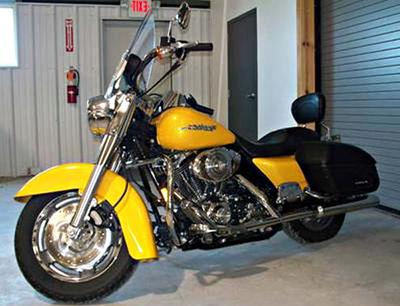 2005 Harley Davidson Road King Custom with 96