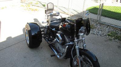 2005 Harley Sportster 1200C Trike Motorcycle