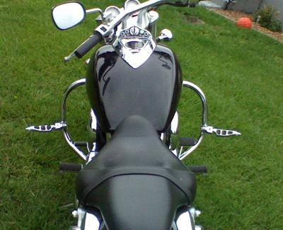 Kawasaki Mean Streak Gas Tank