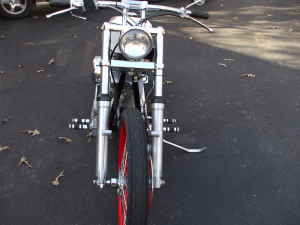 2005 Sucker Punch Sally 55 Bobber Front Forks and Wheel