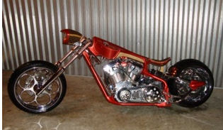 2005 Von Dutch Custom Mayhem Chopper
