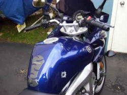 Royal Cobalt Blue 2005 Yamaha FZS 600
