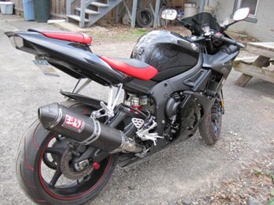 2005 Yamaha R6 Raven