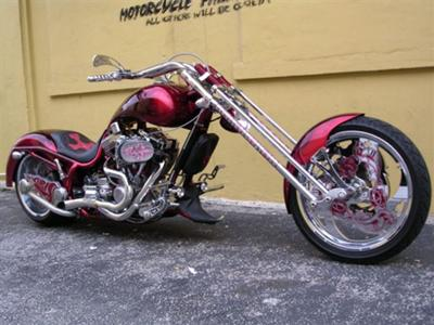 2006 Bourgets Bike Works (BBW) FAT DADDY TRIPLE X TATTOO Keltic Warrior Custom Chopper