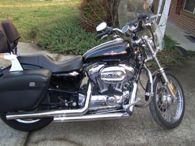 2006 Custom Harley Davidson Sportster 1200XL