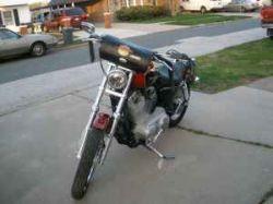 Custom 2006 Harley Davidson 883 Sportster