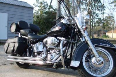Black 2006 Harley Davidson Heritage Softail Classic SOLD!