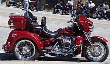 2006 Harley Davidson Road Glide Lehman Trike conversion motorcycle