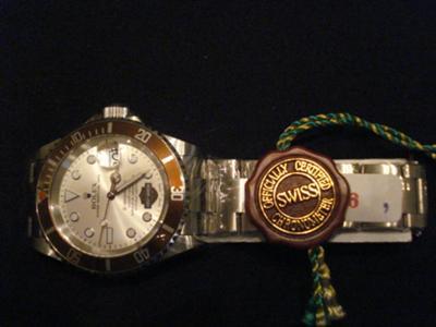 2006 Harley Davidson Rolex Watch Limited Edition Submariner