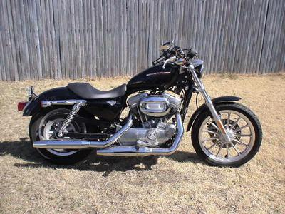 2006 harley davidson sportster 883 low for sale. Black Bedroom Furniture Sets. Home Design Ideas