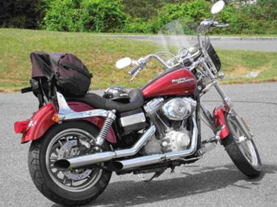 2006 Harley Davidson FXDI Dyna SuperGlide Motorcycle