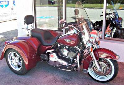 2006 Harley Road King Trike FLHRC Motorcycle w a Champion Trike Kit
