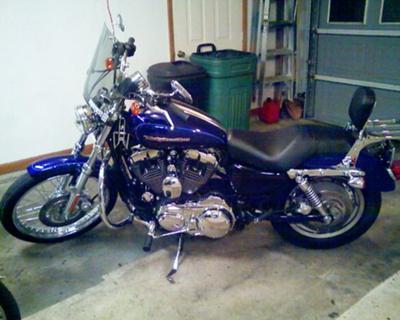 2006 Harley Davidson Sportster 1200 XLC Custom