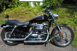 Black and Chrome 2006 Harley Davidson Sportster 1200cc 1200 xl