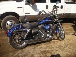 Cobalt Blue 2006 Harley Davidson Street Bob