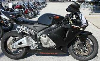 Black 2006 HONDA CBR 600RR CBR600rr