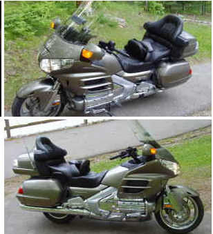 2006 Honda Goldwing GL1800  Goldwing Silver black