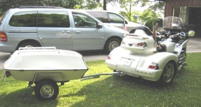 2006 Honda Goldwing Trike and Trailer for Sale