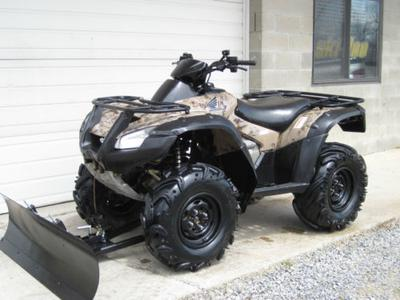 2006 HONDA RINCON 680 4X4 with Plow