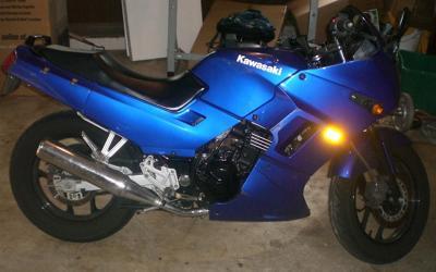 Electric Blue 2006 Kawasaki Ninja 250