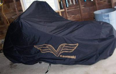 Mint 2006 Kawasaki Vulcan Mean Streak 1600 Cover