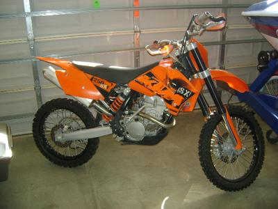 2006 KTM 250 SXF Dirt Bike Motorcycle LOW HOURS, RUNS GREAT