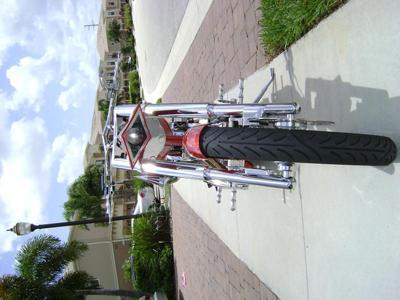 Custom 2006 PITBULL Chopper Rear Wheel
