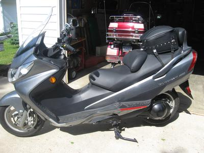 2006 Suzuki Burgman AN 400 Scooter for Sale by Owner