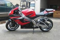 ALL CHROME, RED 2006 SUZUKI GSXR 1000
