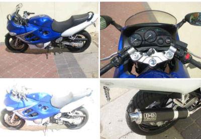 Royal Blue 2006 Suzuki Kantana