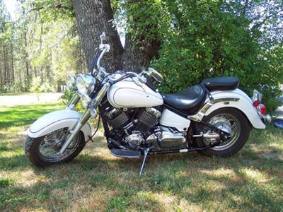 2006 Yamaha V Star Classic 650cc 650   VStar