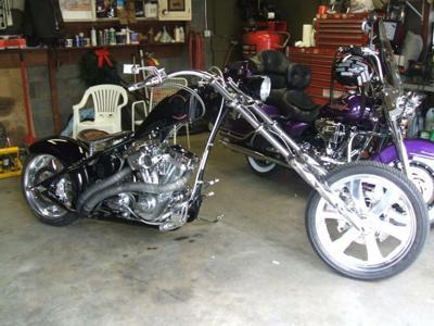 2006 VON DUTCH KUSTOM CHOPPER MOTORCYCLE