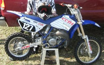2006 YAMAHA YZ85 DIRT BIKE NEW PLASTICS!