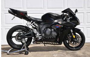 HONDA CBR 1000 rr Black CBR1000RR