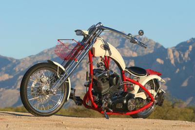 2007 Custom Hard Tail Chopper Hardtail