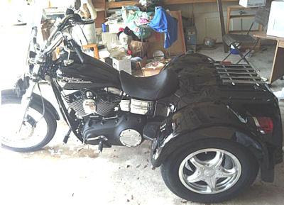 Black 2007 Custom Renegade Trike Motorcycle Three Wheeler
