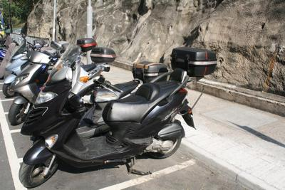 Black 2007 Dink Motor Scooter