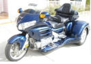 2007 honda goldwing trike Dark Blue Metallic California Sidecar conversion kit
