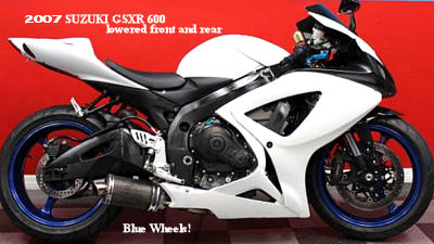 2007 Gsxr 600 for Sale