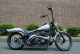 2007 harley davidson night train custom denim pewter gray paint black powder coat