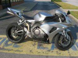 Silver 2007 Honda CBR1000RR