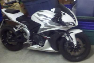 2007 Honda CBR600RR side view 1