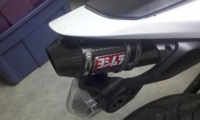 2007 Honda CBR600RR exhaust system