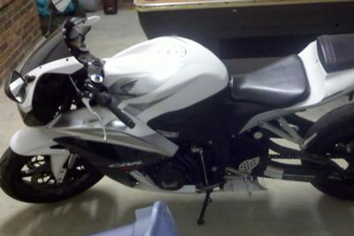 2007 Honda CBR600RR side  view 2