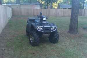 Picture of a 2007 Honda Foreman with Winch, Tires, Lift Kit (example only; not the ATV for sale in this ad