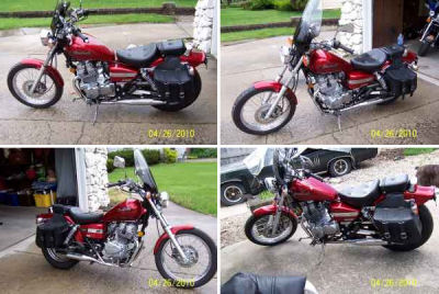 2007 Honda Rebel 250  (not the one in the ad)